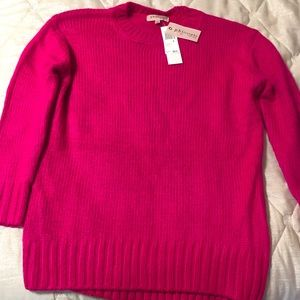 Hot pink Philosophy sweater